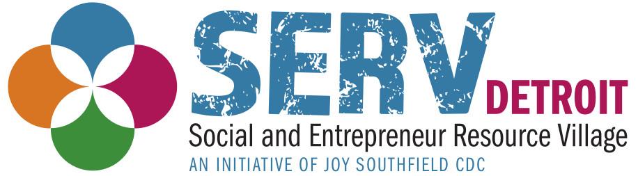 Logo for SERV (Social and Entrepreneur Resource Village)